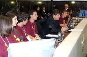 parlamento jovem